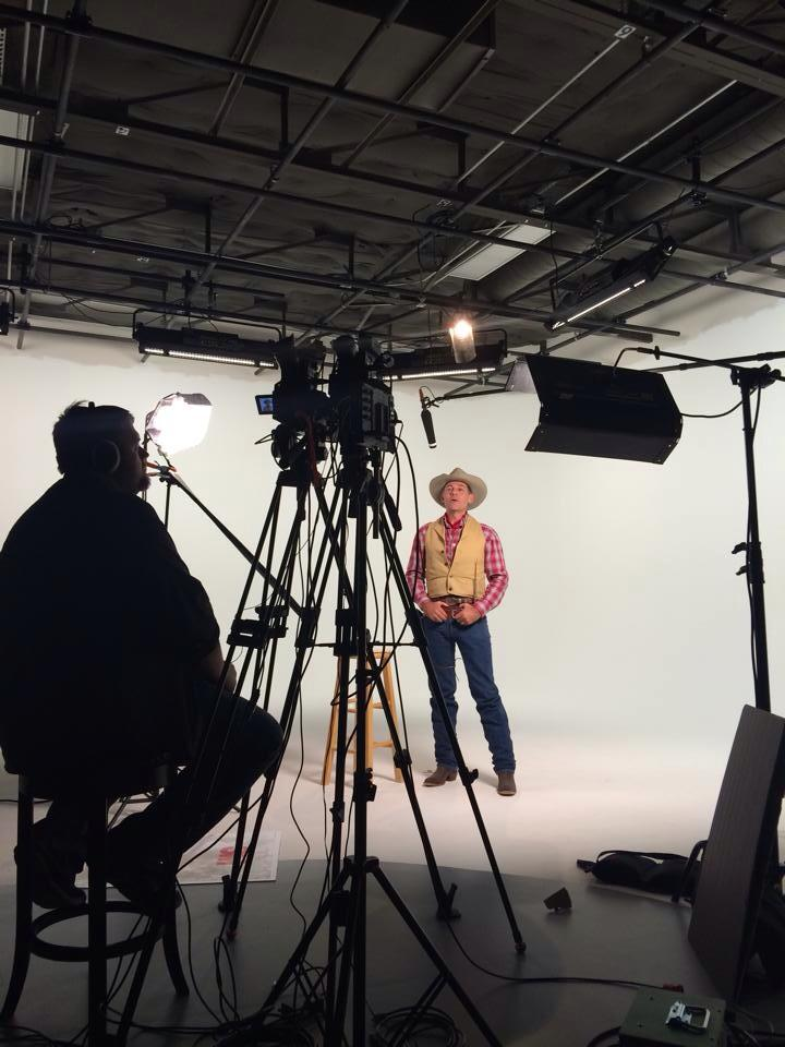 Bob Terry hosting Western Theater for Ride TV